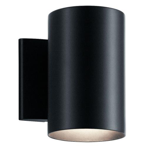 Kichler Lighting 9234 1 light Small Outdoor Wall Mount - with Contemporary inspirations - 7 inches tall by 4.75 inches wide