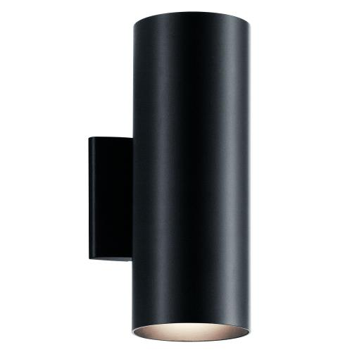 Kichler Lighting 9244BK Two Light Small Outdoor Wall Lantern