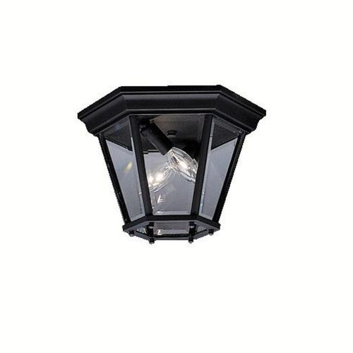 Kichler Lighting 9850 Trenton - 2 light Outdoor Flush Mount - 7.25 inches tall by 10.75 inches wide