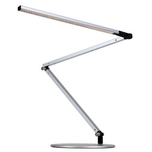 Koncept AR3000-CD-SIL-DSK Z-Bar - 33.88 Inch 9.5W 1 LED Desk Lamp