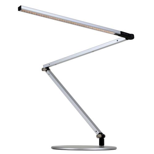 Koncept AR3000-WD-SIL-DSK Z-Bar - 33.88 Inch 9.5W 1 LED Desk Lamp