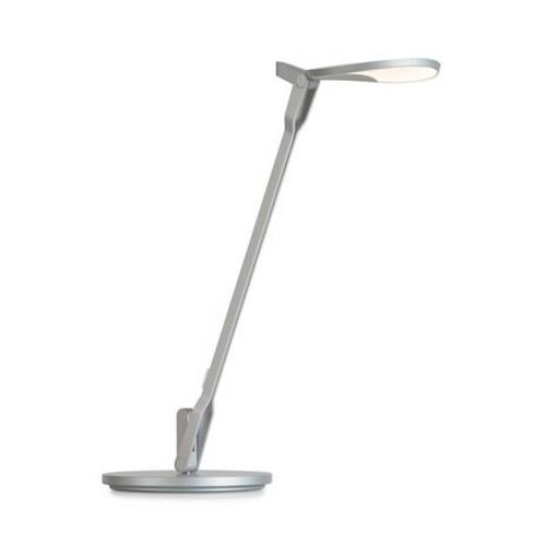 "Koncept SPY-W-SIL-USB-CLP Splitty - 17"" 5W 1 LED Desk Lamp with One-piece Desk Clamp"