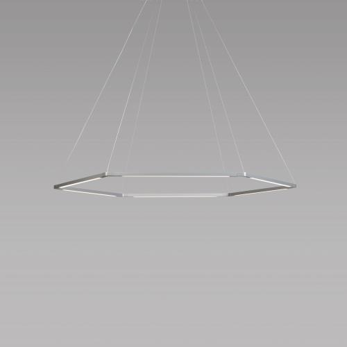 Koncept ZBP-1H Z-Bar - 16 Inch 42W 6 LED Honeycomb Pendant with Canopy