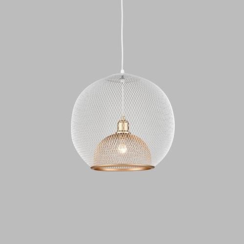 Kuzco Lighting 494418-GIBR Gibraltar - 18 Inch One Light Pendant
