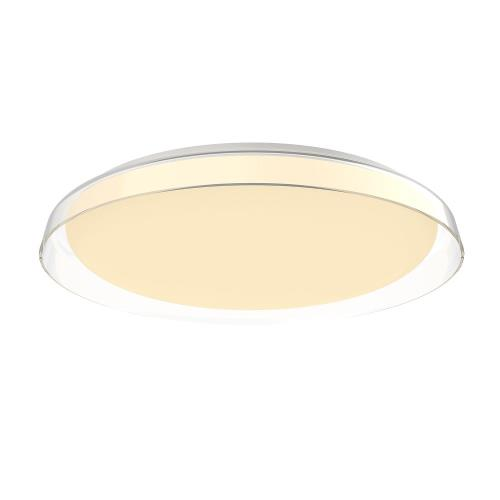 Kuzco Lighting FM43121-CL Hampton - 20.88 Inch 42W 1 LED Flush Mount