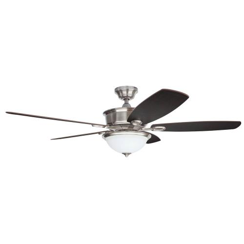 "Litex CAF56BNK5CRS SOE NAPOLI - 56"" Single Light Ceiling Fan"