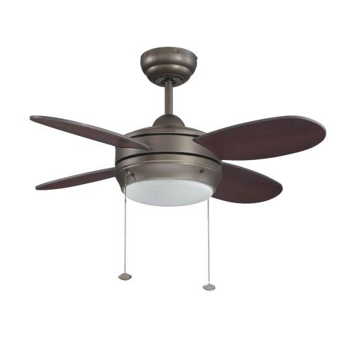 "Litex E-MLV36ESP4LK1 Maksim - 36"" Single Light Ceiling Fan"