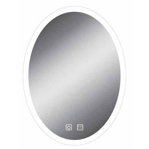"Litex MIR3009 32"" 21W LED Oval Bathroom Mirror"