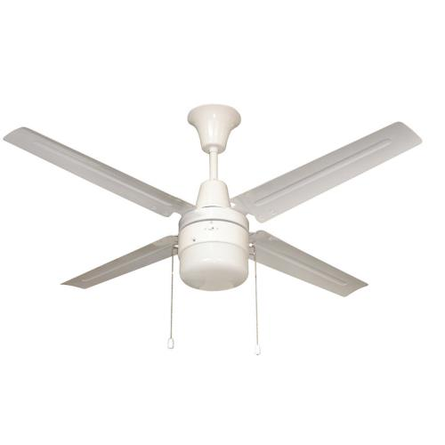 "Litex UB48WW4L URBANA - 48"" Single Light LED Ceiling Fan"