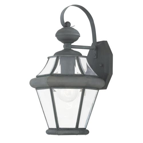Livex Lighting 2161-61 Georgetown - One Light Outdoor Wall Lantern