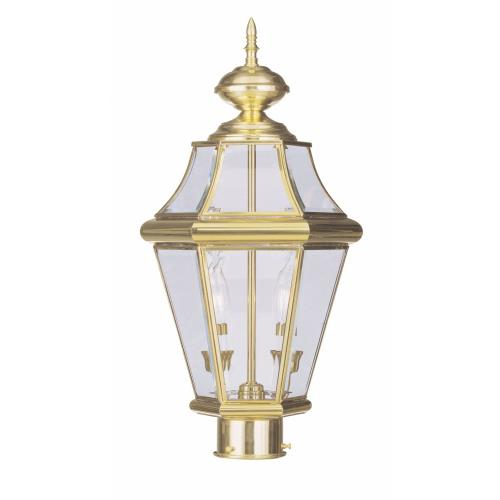 Livex Lighting 2264-02 Georgetown - Two Light Outdoor Post Lantern
