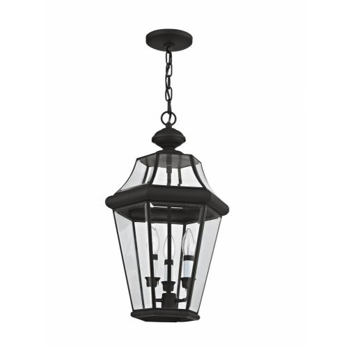 Livex Lighting 2365-04 Georgetown - Three Light Outdoor Pendant