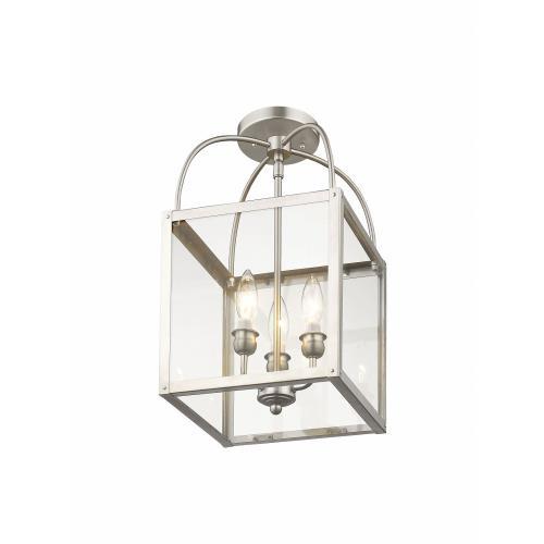 Livex Lighting 4037-91 Milford - Three Light Convertible Pendant