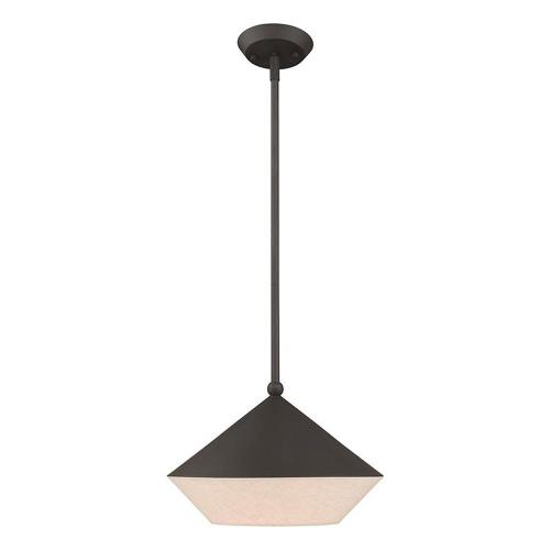 Livex Lighting 40685 Stockholm - 17 Inch One Light Mini Pendant