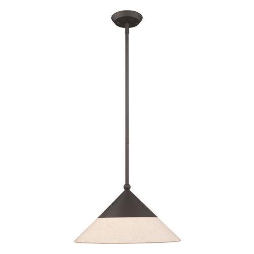 Livex Lighting 40687 Stockholm - 16.75 Inch One Light Mini Pendant
