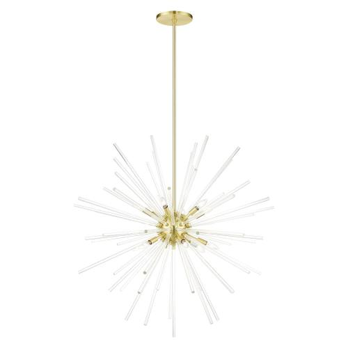 Livex Lighting 41259 Utopia - 12 Light Foyer in Utopia Style - 42 Inches wide by 45.75 Inches high