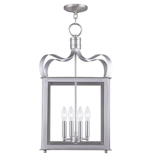 Livex Lighting 4314GAR Garfield - Four Light Chain Hanging Pendant