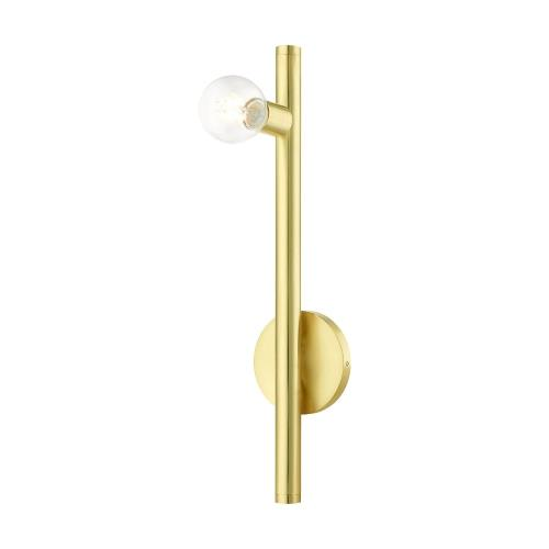 Livex Lighting 45861 Bannister - 1 Light Wall Sconce in Bannister Style - 5.13 Inches wide by 22 Inches high