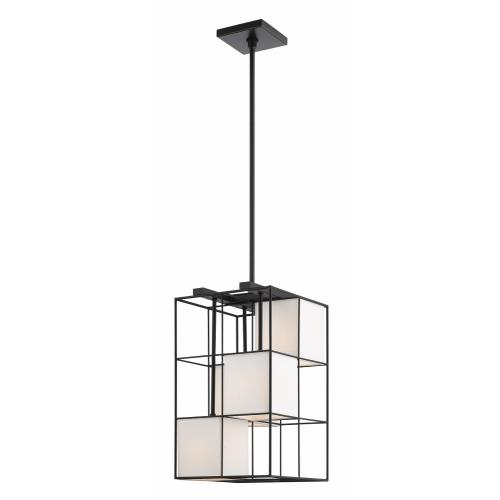 Livex Lighting 49622 Trondheim - 4 Light Pendant in Trondheim Style - 10.5 Inches wide by 25 Inches high