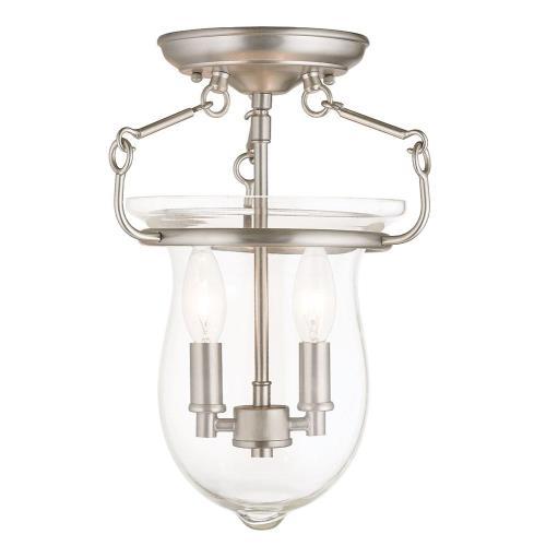 Livex Lighting 50293 Canterbury - Two Light Flush Mount
