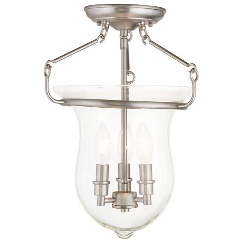 Livex Lighting 50295 Canterbury - Three Light Flush Mount