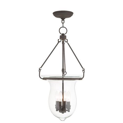 Livex Lighting 50298 Canterbury - Four Light Pendant