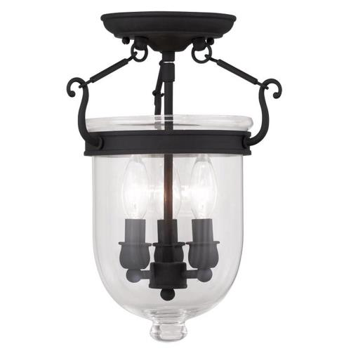 Livex Lighting 5061-04 Jefferson - Three Light Flush Mount