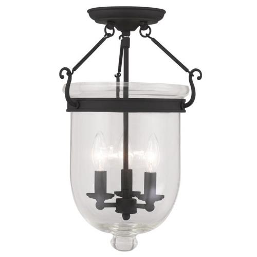 Livex Lighting 5062-04 Jefferson - Three Light Flush Mount