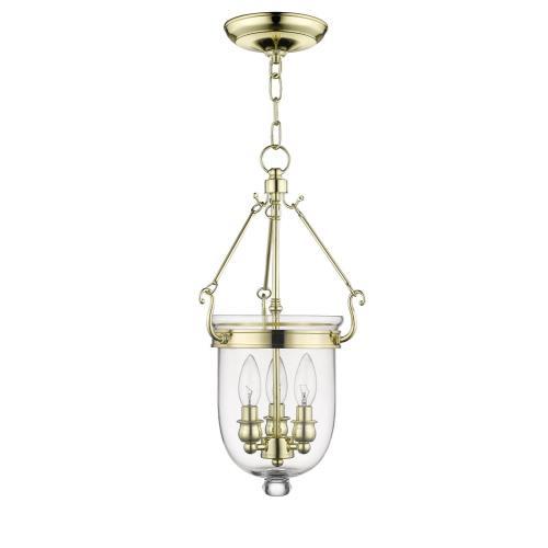Livex Lighting 5063-02 Jefferson - Three Light Chain Hanging Lantern