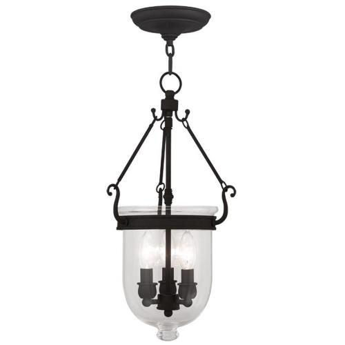 Livex Lighting 5063-04 Jefferson - Three Light Chain Hang Pendant
