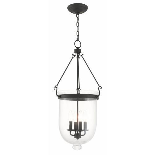 Livex Lighting 5065-07 Jefferson - Four Light Chain Hanging Lantern