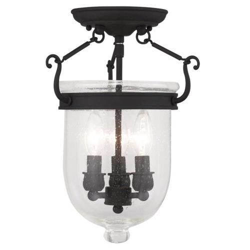 Livex Lighting 5081-04 Jefferson - Three Light Flush Mount