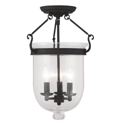 Livex Lighting 5082-04 Jefferson - Three Light Flush Mount