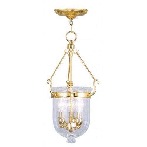 Livex Lighting 5083-02 Jefferson - Three Light Chain Hanging Lantern