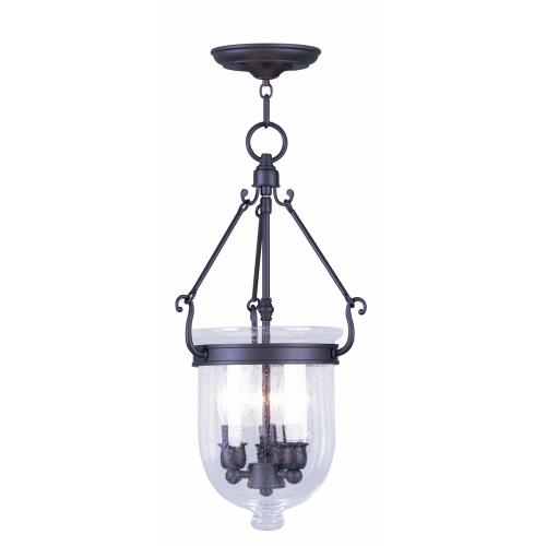 Livex Lighting 5083-07 Jefferson - Three Light Chain Hanging Lantern