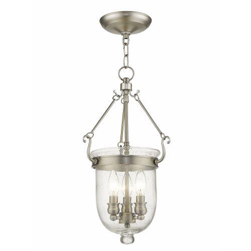 Livex Lighting 5083-91 Jefferson - Three Light Chain Hanging Lantern