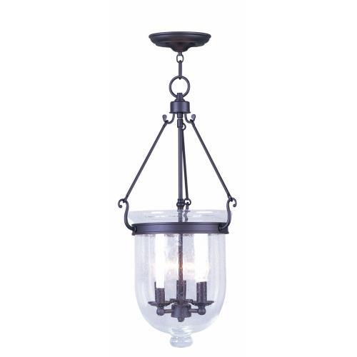 Livex Lighting 5084-07 Jefferson - Three Light Chain Hanging Lantern