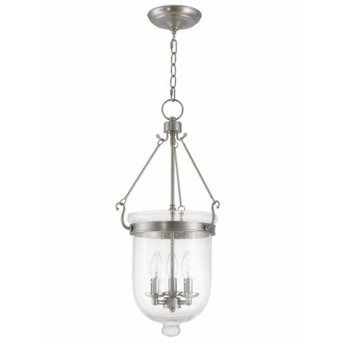 Livex Lighting 5084-91 Jefferson - Three Light Chain Hanging Lantern