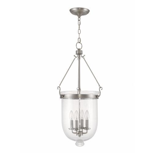 Livex Lighting 5085-91 Jefferson - Four Light Chain Hanging Lantern