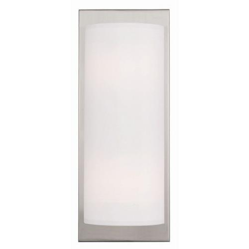 Livex Lighting 50861 Meridian - 2 Light Wall Sconce in Meridian Style - 6 Inches wide by 15 Inches high
