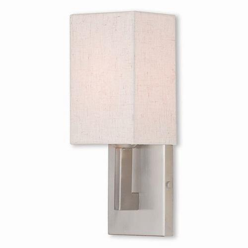 Livex Lighting 52131 Meridian - 1 Light ADA Wall Sconce in Meridian Style - 5 Inches wide by 13 Inches high