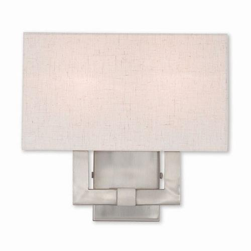Livex Lighting 52132 Meridian - 2 Light ADA Wall Sconce in Meridian Style - 13 Inches wide by 12.63 Inches high