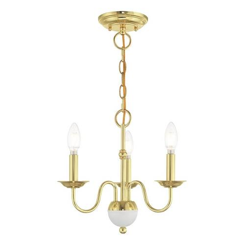 Livex Lighting 52163 Windsor - 3 Light Mini Chandelier