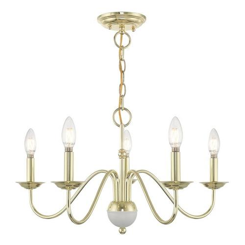 Livex Lighting 52165-LC Windsor - Five Light Chandelier