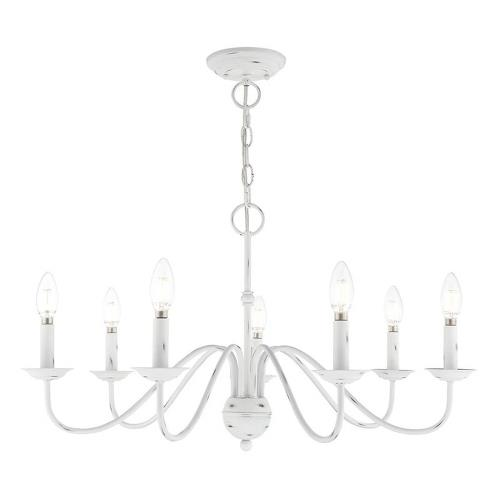 Livex Lighting 52167-LC Windsor - Seven Light Chandelier