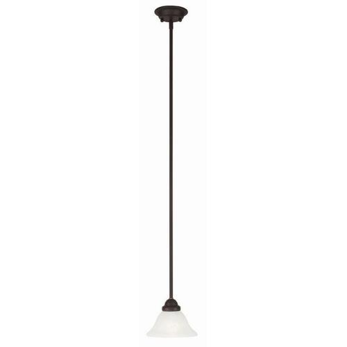 Livex Lighting 6110-07 Coronado - One Light Mini Pendant
