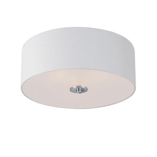 Maxim Lighting 10010 Bongo-Three Light Semi Flush Mount-18 Inches wide by 7.75 inches high