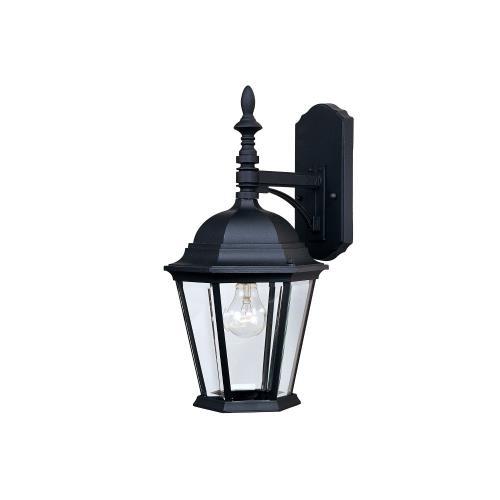Maxim Lighting 1004BK Westlake 19 Inch Outdoor Wall Lantern Mediterranean Cast Aluminum Approved for Wet Locations