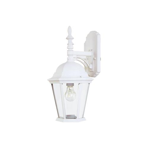 Maxim Lighting 1004WT Westlake 19 Inch Outdoor Wall Lantern Mediterranean Cast Aluminum Approved for Wet Locations