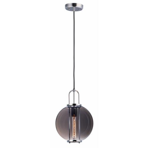 Maxim Lighting 10084MSKPN Minaret-1 Light Pendant-10.5 Inches wide by 15.25 inches high